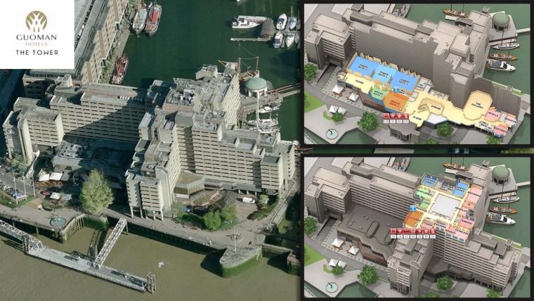The Tower Hotel and vFloorplan